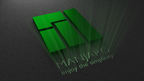 manjaro_logo_glowing_wallpaper_by_duradcell-d63p4hp