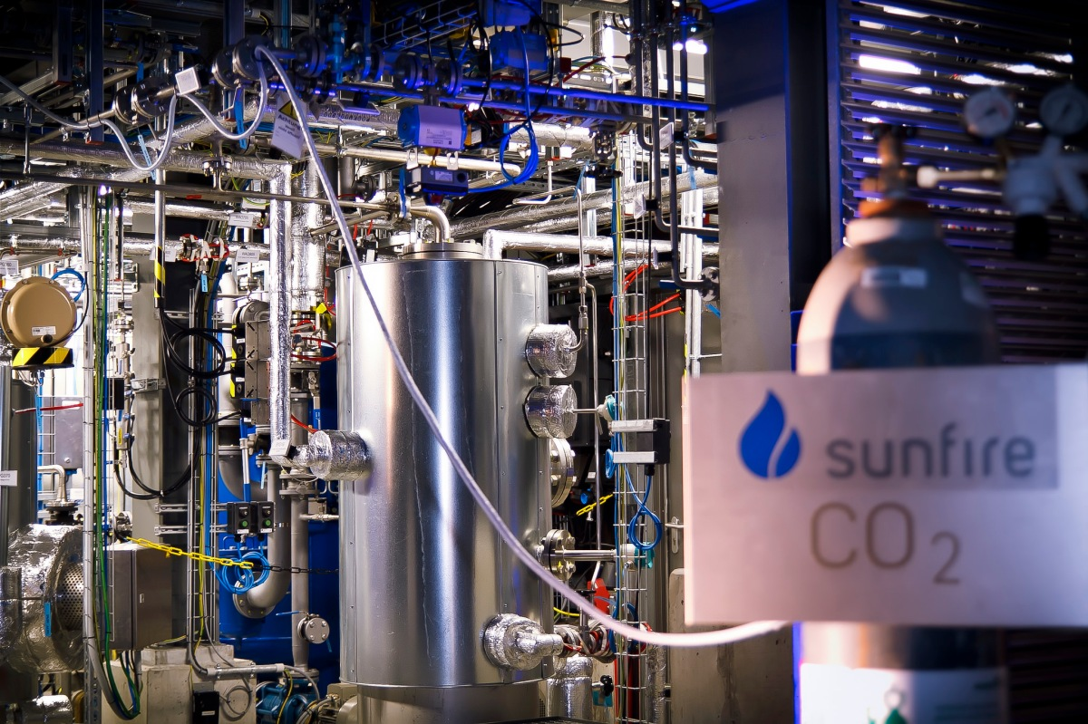 Audi, Sunfire e o diesel produzido a partir de água e dióxido de carbono